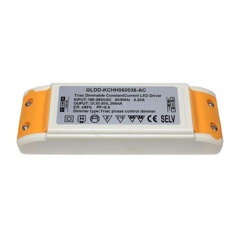 LED Driver KRAMFOR DC65-85V/25W/260mA, Regulable, Regulable
